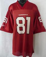 best service 7f943 4e25f arizona cardinals antwan boldin reebok nfl jersey size xl | eBay