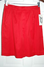 Tail Ladies Shorts Red Golf Tennis Sport Shorts Microfiber
