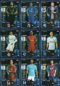 Match Attax 2019/20 19/20 100 Club Limited Edition Football Trading Cards