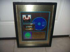 CASE - PERSONAL CONVESATION  -  RIAA THE SALE MORE 500.000 COPIES Award