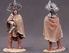 Tin toy soldiers  painted 54 mm indian chief