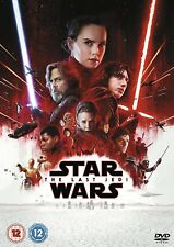 Star Wars The Last Jedi 2017 Genuine UK R2 DVD Fast Post Immediate DISPATCH