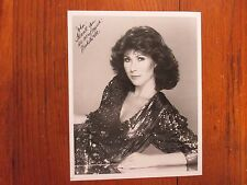 """MICHELE  LEE (""""Knots  Landing"""") Signed  8 X 10 Black  and  White  Glossy  Photo"""