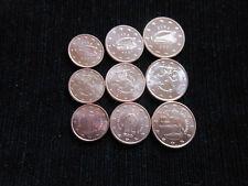 1 + 2 + 5  Euro Cent Münzen Euromünzen Finnland Irland San Marino  Sammelalbum