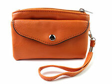 New Ladies Large Purse Handbag Coin Pouch Credit Card Holder Wrist Strap Holiday