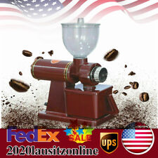 Commercial Coffee Grinder Electric Automatic Mill Espresso Bean Home Grind 110v