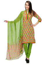 Designer Bollywood Cotton Printed Partywear Salwar Kameez Suit Dress Material