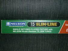 NEW NELSON 28W T5 120cm Slimline Light Fitting Diffused Batten Fixture M5FD128