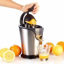 Spremiagrumi Elettrico in Acciaio Inox Manico a Pressione Spremi Arancia Frutta