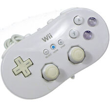 Nintendo Wii White Classic Controller Pad Only Japan Import Working Tested RARE