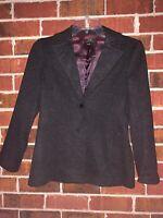 BCBG Max Azria Size 4 Small Charcoal Gray blazer jacket MaxAzria Suit Coat