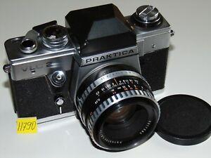 PRAKTICA VLC 2 Spiegelreflexkamera Lens Objektiv Pankolar 1,8/50 Carl Zeiss Jena