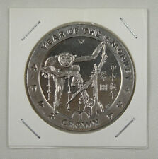 New listing Isle Of Man Crown,2004, Year of the Monkey, Monkey within Circle