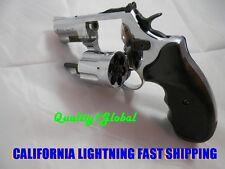 "SALE HEAVY METAL VIPER CHR 2.5"" MOVIE PROP Pistol Replica Hand Gun Training G16"