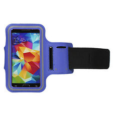 Sports Running Jogging Armband Waterproof Cover for Samsung S3,S4 Dark Blue