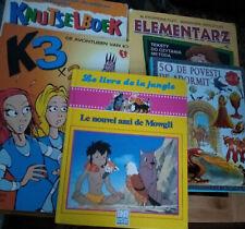 Lot of 5 Dutch Language Childrens Reading Alphabet Craft Books Netherlands