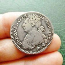 Louis XVI - 1/5 Ecu aux branches d'olivier - 1788 MA  Marseille