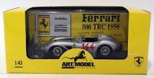 Voitures de courses miniatures argenté pour Ferrari 1:43