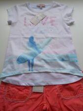Ensemble fille 5 ans  Z génération Lisa Rose 2 pièces t shirt/short neuf