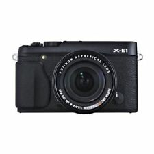 Near Mint! Fujifilm X-E1 with XF 18-55mm f/2.8-4 Black - 1 year warranty