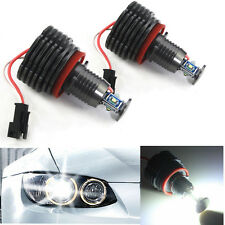 For BMW CREE LED 40W Angel Eyes Halo Light H8 Bulb E90 E92 E82 E60 E70 X5 E71 X6