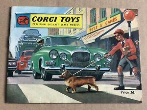 1962 Original Corgi Toys Catalogue
