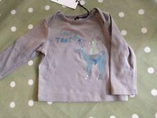 No Added Sugar baby boy girl 'Toot Toot' L/S camiseta 6 meses BNWT!!!
