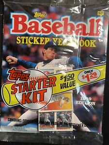 1989 Topps Baseball Sticker Yearbook - Orel Hershiser NISP!