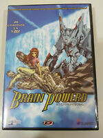 BRAIN POWERED SERIE COMPLETA EDICION INTEGRAL ANIME MANGA 26 EPISODIOS 5 X DVD