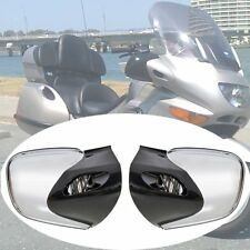 Chrome Rearview Left & Right Mirrors Rear View For BMW K1200 K1200LT 1999-2009