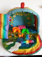 Vintage Rainbow Brite Carrying Case and Accessories Mattel 1983