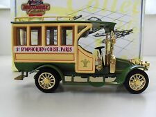 MATCHBOX COLLECTIBLES - EUROPEAN TRANSIT COLLECTION - 1910 RENAULT MOTOR BUS