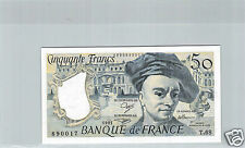 FRANCE 50 FRANCS QUENTIN DE LA TOUR 1991 T.68 N° 1693890017