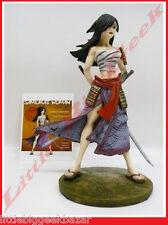 GUERRIERE Samourai Statue Remi Bostal Pin Up Sexy War Girls Resine BD # NEUF #