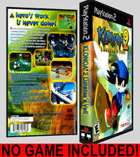 Klonoa 2  - PS2 Reproduction Art DVD Case No Game Playstation 2