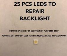 25pc Led Repair Kit FOR PANASONIC TX-40CX400B  400DLED_SLIM_REV01_20150202