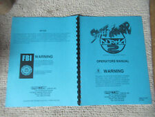 original STREET FIGHTER ALPHA 2 cps 2 CAPCOM ARCADE VIDEO GAME  owners manual