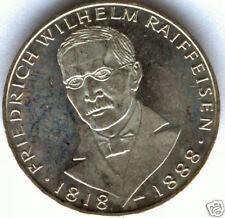 Alemania 5 Marcos 1968 J plata @ Friedrich Wilhelm @