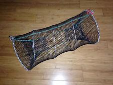 Dual Entrance Minnow Shrimp Lobster Crawfish Trap Net Emergency Survival +BONUS