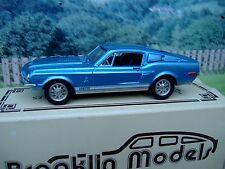 1/43  Brooklin models Ford mustang 1968