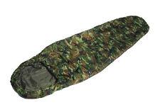 Armée américaine style commando sac de couchage woodland camo camouflage léger camping