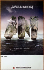 AWOLNATION Megalithic Symphony Ltd Ed RARE Poster +FREE Indie/Alt/Rock Poster!