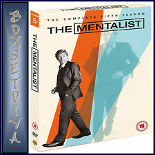 THE MENTALIST - COMPLETE SEASON 5  **BRAND NEW DVD **