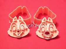 New Disney Chipmunk Cookie Cutters Embosser Mould Sugarcraft Cake Decorating