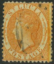 St Lucia  1864  Scott #10    USED