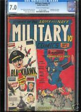 Military Comics #2  CGC  7.0  FN/VF  Universal CGC #0118112009