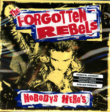THE FORGOTTEN REBELS Nobody's Hero's CD PUNK ROCK OTHER PEOPLE MUSIC