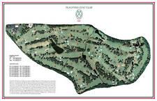 Peach Tree Golf Club- 1948- Robt Trent Jones - a VintageGolfCourseMap
