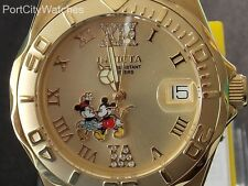 Invicta Disney Womens 38mm SS Pro Diver Limited Edition Watch w/3-Slot Dive Case