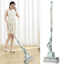 PVA Rubber Mop Professional Double Roller Sponge Foam Rubber Head Floor Cleaning